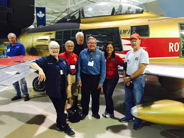 2016 Regional Judging Meet at the Canadian Warplane Heritage Museum.